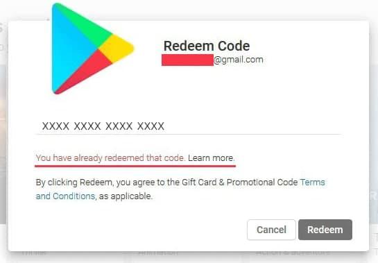 آموزش فعال سازی گیفت کارت گوگل پلی