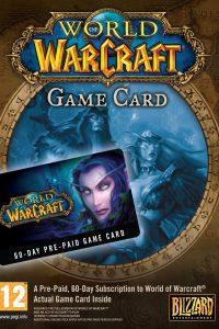 تایم کارت World of Warcraft 60 Day Time Card