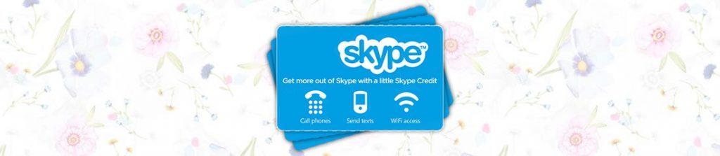گیفت کارت Skype