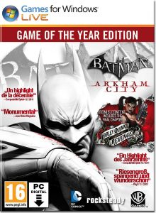 سی دی کی بازی Batman Arkham City GOTY