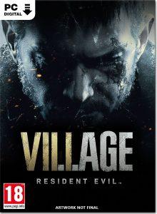 سی دی کی بازی Resident Evil 8 Village + Deluxe Edition