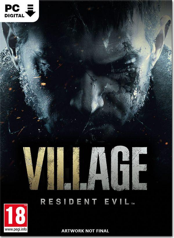 سی دی کی بازی Resident Evil 8 Village