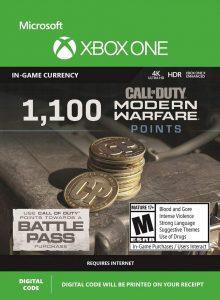 خرید CP 1100 تایی Call Of Duty Warzone ایکس باکس