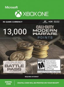 خرید CP 13000 تایی Call Of Duty Warzone ایکس باکس