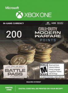 خرید CP 200 تایی Call Of Duty Warzone ایکس باکس