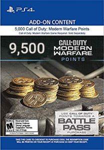 خرید CP 9500 تایی Call Of Duty Warzone برای PS4