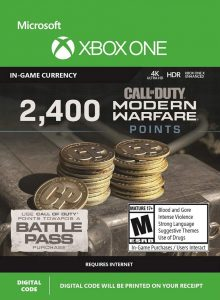 خرید CP 2400 تایی Call Of Duty Warzone ایکس باکس