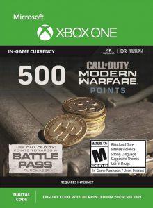 خرید CP 500 تایی Call Of Duty Warzone ایکس باکس