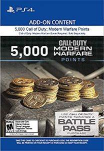 خرید CP 5000 تایی Call Of Duty Warzone برای PS4