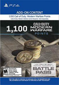 خرید CP 1100 تایی Call Of Duty Warzone برای PS4
