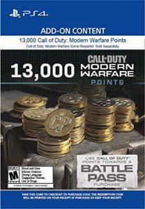 خرید CP 13000 تایی Call Of Duty Warzone برای PS4