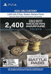 خرید CP 2400 تایی Call Of Duty Warzone برای PS4