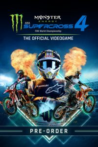سی دی کی بازی Monster Energy Supercross 4 + Special Edition