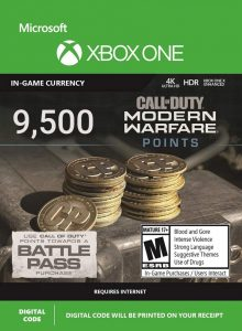 خرید CP 9500 تایی Call Of Duty Warzone ایکس باکس
