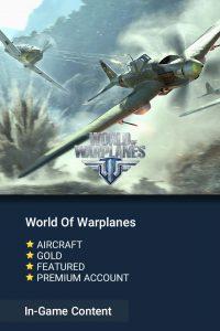 خرید آیتم های بازی World Of Planet