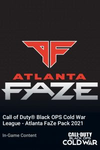 پک Call of Duty League Atlanta FaZe Pack 2021