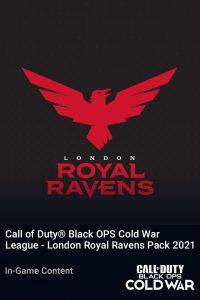 پک Call of Duty League London Royal Ravens Pack 2021