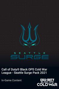 پک Call of Duty League Seattle Surge Pack 2021
