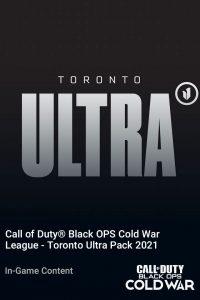 پک Call of Duty League Toronto Ultra Pack 2021