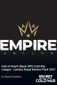 پک Call of Duty League Dallas Empire Pack 2021