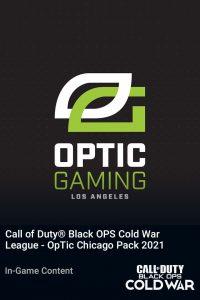 پک Call of Duty League OpTic Chicago Pack 2021