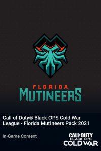 پک Call of Duty League Florida Mutineers Pack 2021