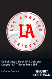 پک Call of Duty League LA Thieves Pack 2021