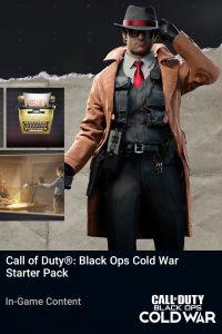 پک Call of Duty Black Ops Cold War Starter Pack