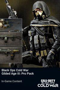 پک Black Ops Cold War Gilded Age III Pro Pack