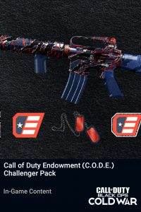 خرید Call of Duty Endowment (C.O.D.E.) – Challenger Pack