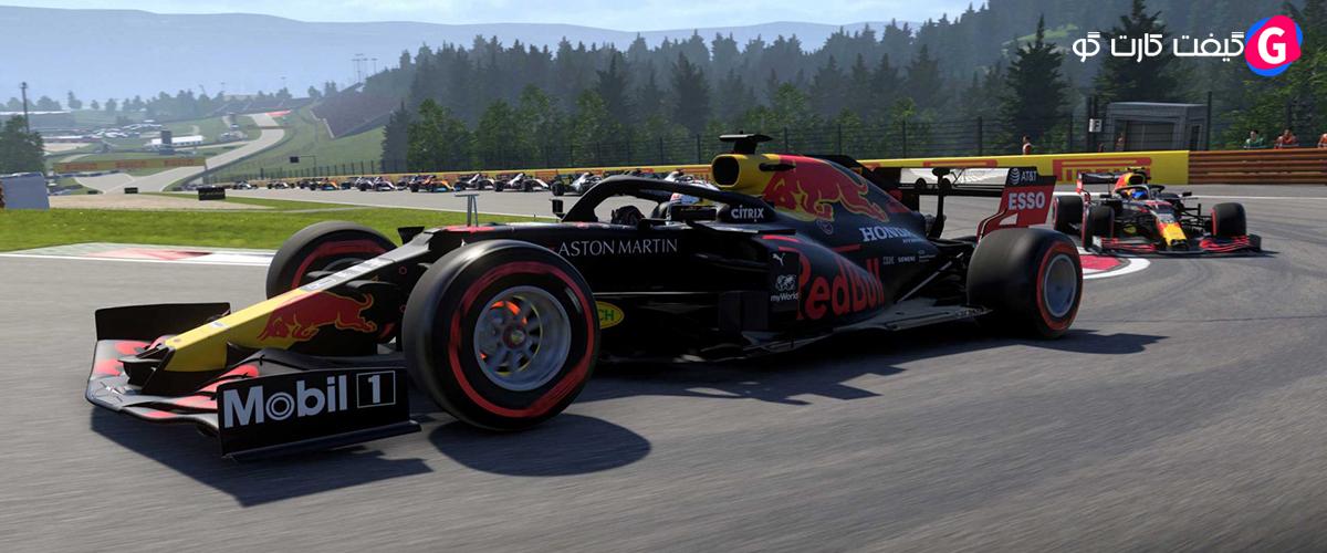 کد اورجینال بازی F1 2021
