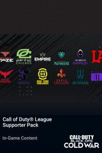 پک Call of Duty League Supporter Pack