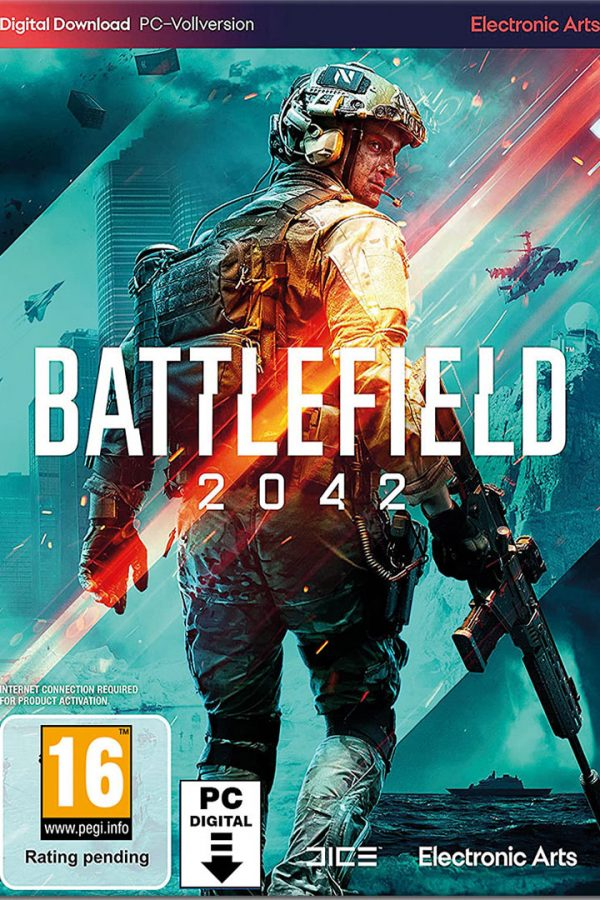 سی دی کی بازی Battlefield 2042
