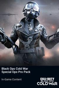 خرید Black Ops Cold War Special Ops Pro Pack