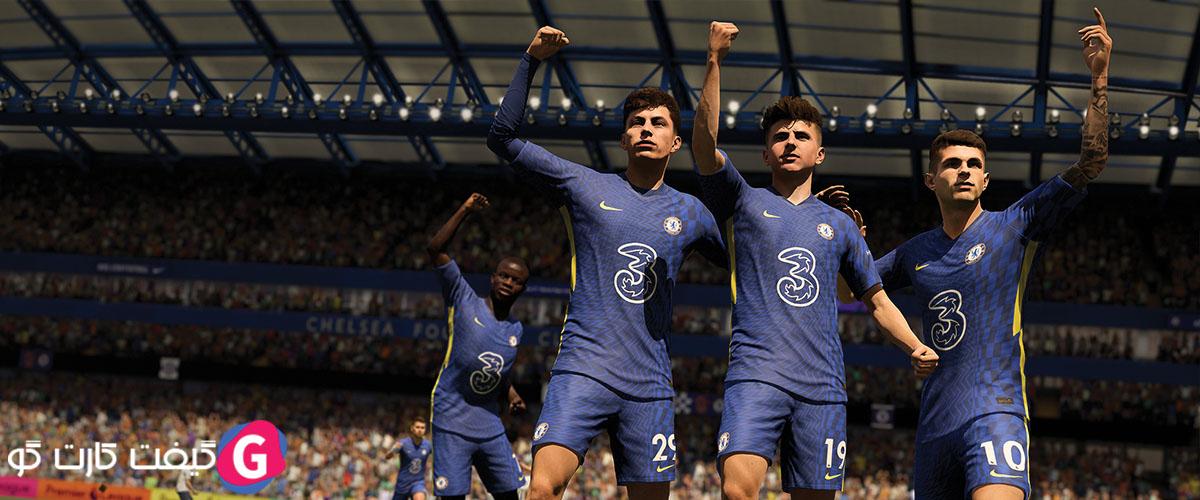 سی دی کی بازی FIFA 22