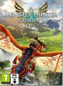 سی دی کی بازی Monster Hunter Stories 2 Wings of Ruin